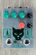 Fuzzrocious Pedals Cat Tail Low/High Gain Distortion/Overdrive Guitar Effects Pedal, Latching Feedback Mod - Sparkle