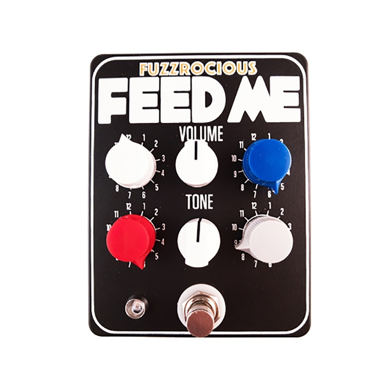 Fuzzrocious Pedals Feed Me V1 EQ/Preamp/Tone Shaper Guitar Effects Pedal - Black
