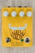 Fuzzrocious Pedals Grey Stache Fuzz Guitar Effects Pedal, Diode & Momentary Oscillation Mods - Honey