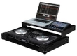 Odyssey FZGSNS6BL Flight Case Numark NS6 MIDI Digital DJ Controller Glide Style Case