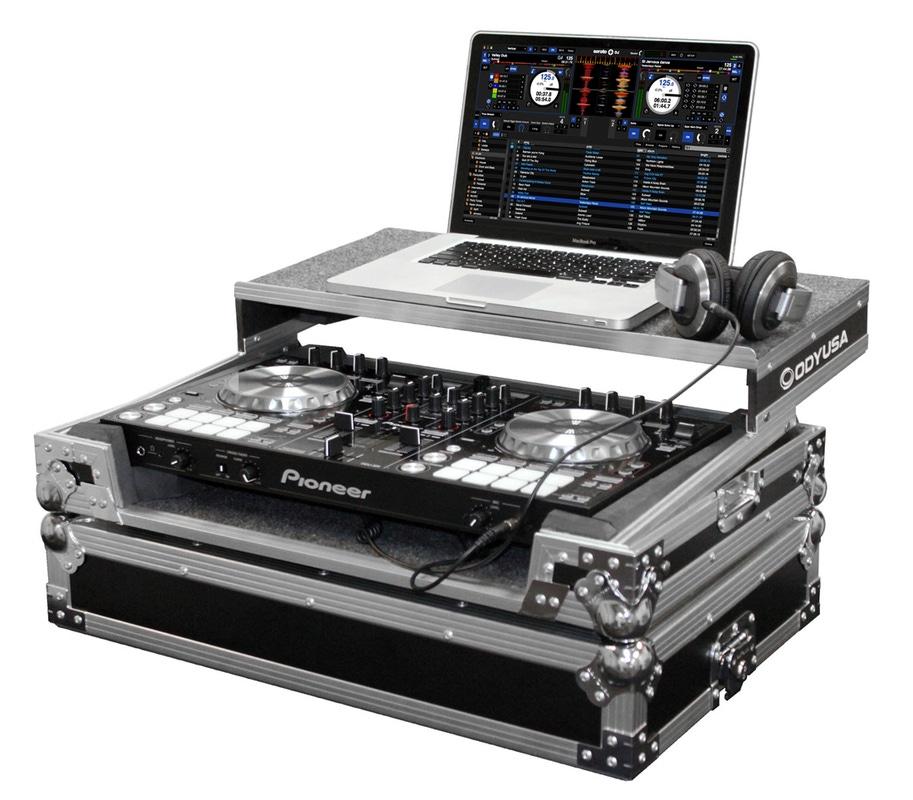 Odyssey Flight Zone Pioneer DDJ-SR DJ Controller Glide Style ATA Case DDJSR