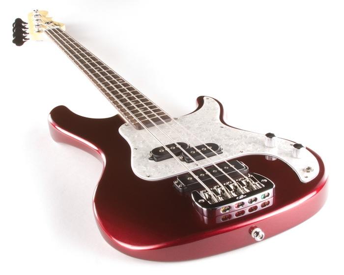 pitbull audio g l tribute sb 2 electric bass brazilian cherry fingerboard bordeaux red metallic. Black Bedroom Furniture Sets. Home Design Ideas