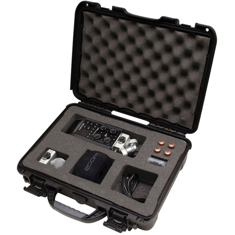 Gator GU-ZOOMH6-WP Waterproof Case for the Zoom H6 Portable Recorder