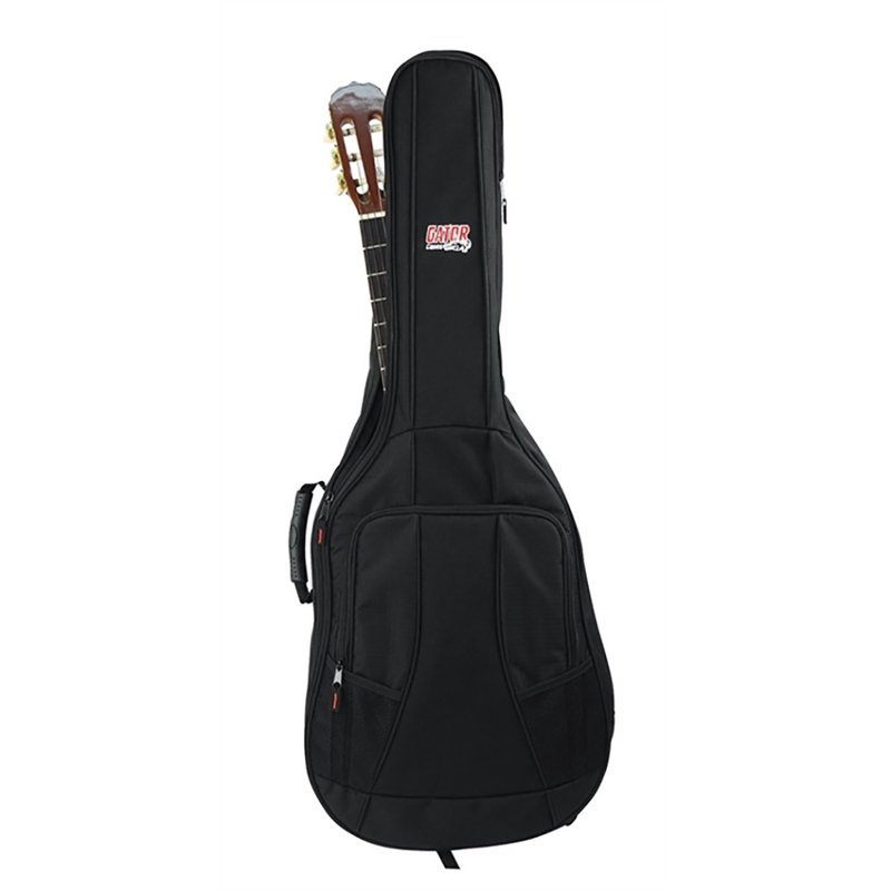 Gator GB-4G-CLASSIC Classical Acoustic Guitar Padded Gig Bag w/ Backpack Straps