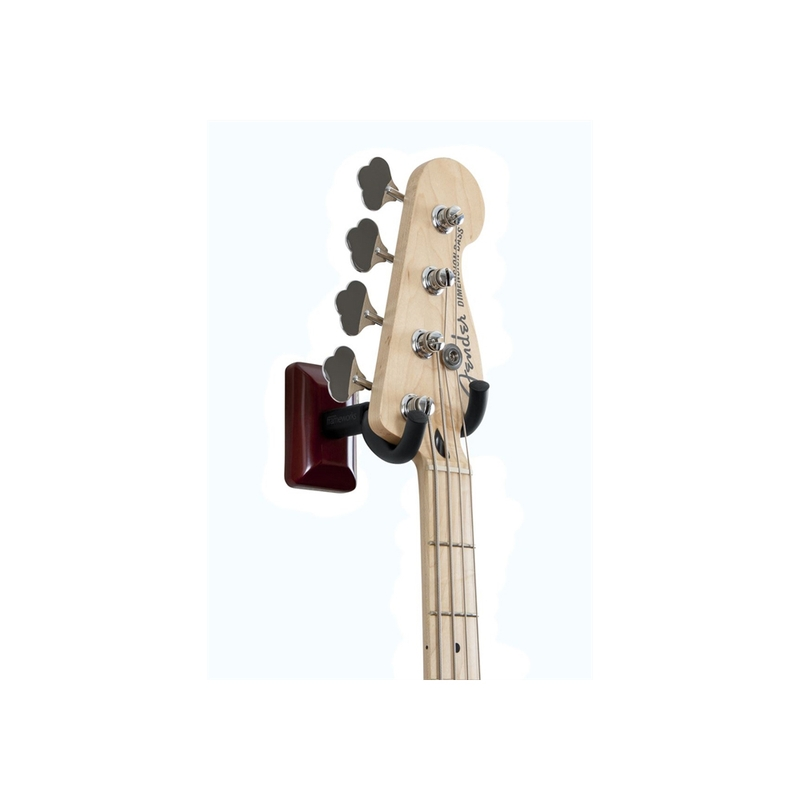 Gator Cases GFW-GTR-HNGRCHR Cherry Wall Mount Guitar Hanger