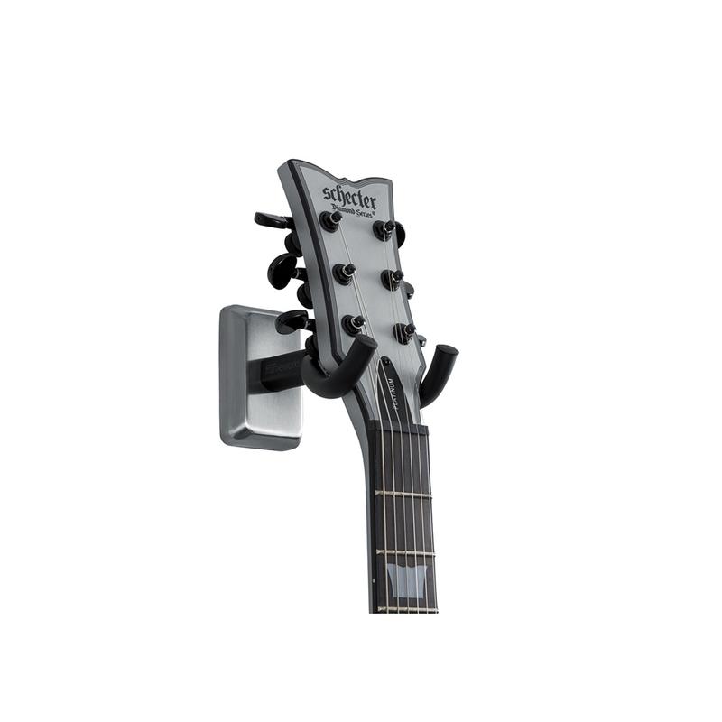 Gator Cases GFW-GTR-HNGRSCH Chrome Wall Mount Guitar Hanger