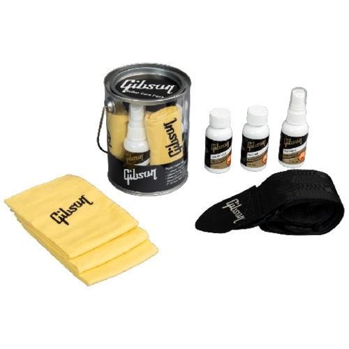 Gibson Guitars G-CAREKIT1 Guitar Cleaning and Polishing Care Kit w/ Guitar Strap