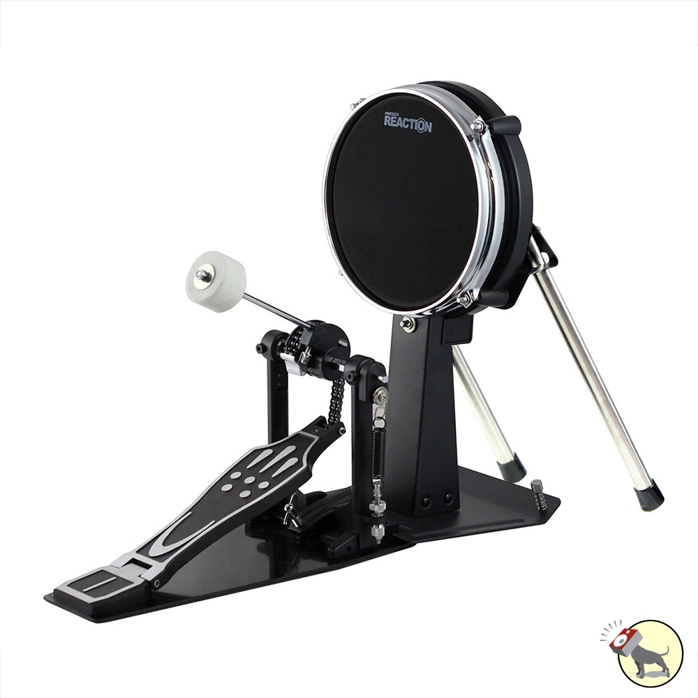 Bass Drum Pad : pintech gig kd kick drum practice pad w 8 mesh head single double pedal ~ Vivirlamusica.com Haus und Dekorationen