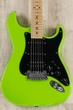 G&L USA Fullerton Deluxe Legacy HB HSS Guitar, Sublime Green, Maple Fretboard, Deluxe Gig Bag