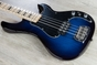 G&L USA Kiloton Electric Bass, Maple Fingerboard, Hard Case - Blueburst