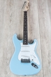 G&L USA S-500 Guitar w/ Case, Sonic Blue, Hard-Rock Maple Neck w/ Rosewood Fretboard