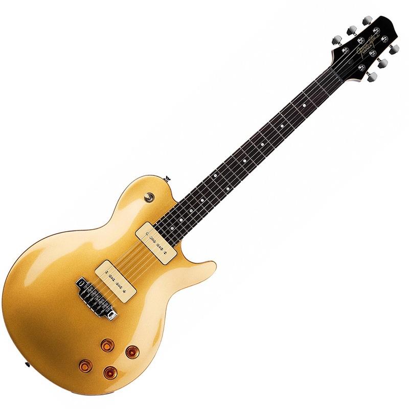 Line 6 JTV-59 P90 James Tyler Variax Modeling Electric Guitar Gold Top JTV59P90