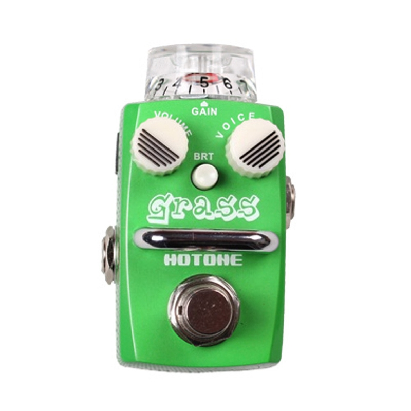 Hotone Grass Overdrive Distortion Skyline Series Stompbox