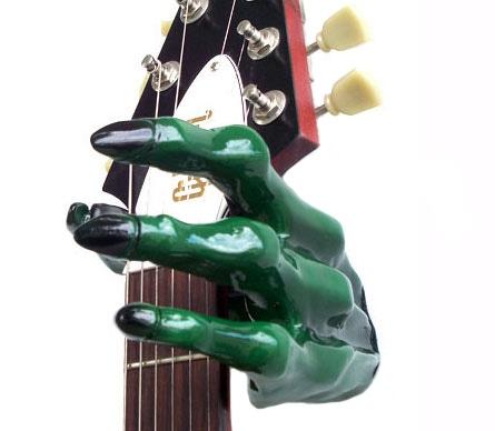Guitar Grip GS-2 Series Custom Guitar Hanger (Monster Green)