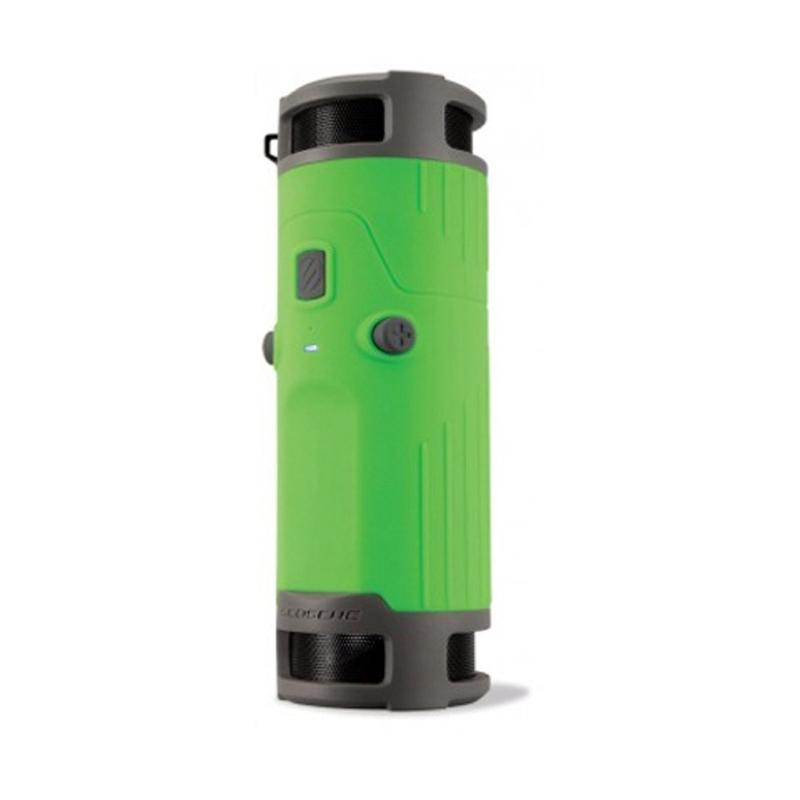 SCOSCHE BTBTLG boomBOTTLE Weatherproof Wireless Speaker (Green)