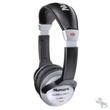 "Numark HF125 Compact Silver/Black DJ Headphones w/ 1/4"" Adaptor"