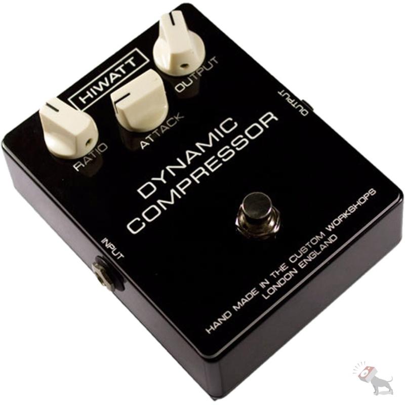 Hiwatt Custom Shop Dynamic Compressor Guitar or Bass Effect Pedal