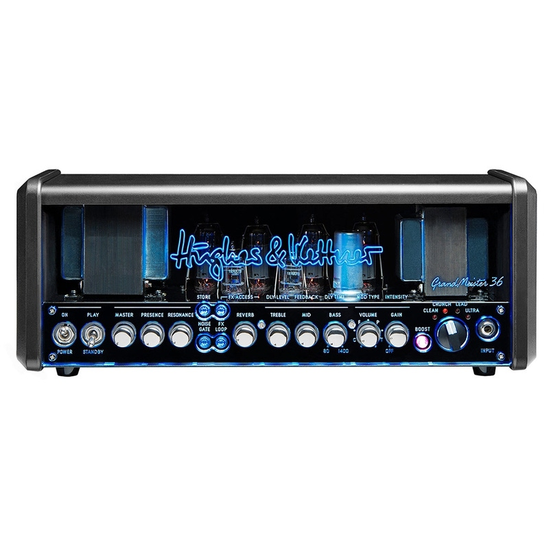 Hughes & Kettner GrandMeister 36 - 36-Watt 4-Channel Tube Guitar Amplifier Head (B-STOCK)