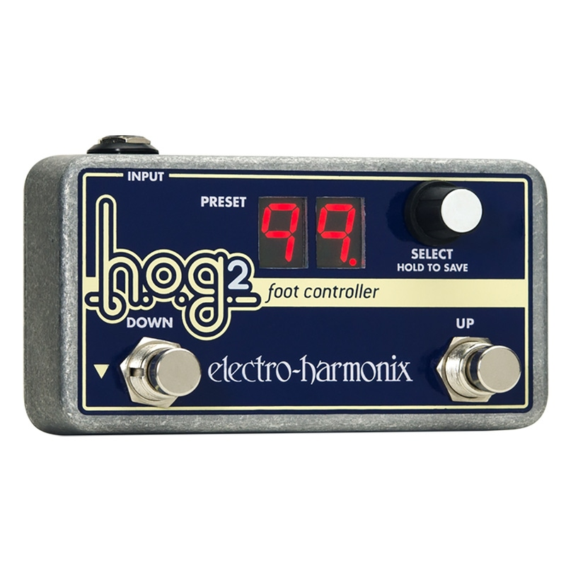Electro-Harmonix HOG2 EHX Foot Controller Guitar Effects Pedal HOG 2