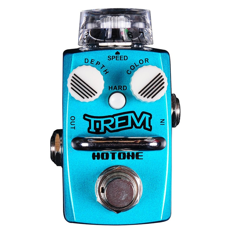 Hotone Skyline Series TREM Compact Analog Tremolo Guitar Effects Pedal