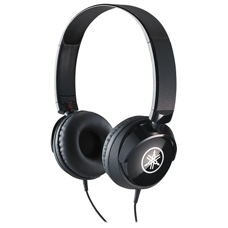 Yamaha HPH-50B On-Ear Closed-Back Headphones, Black