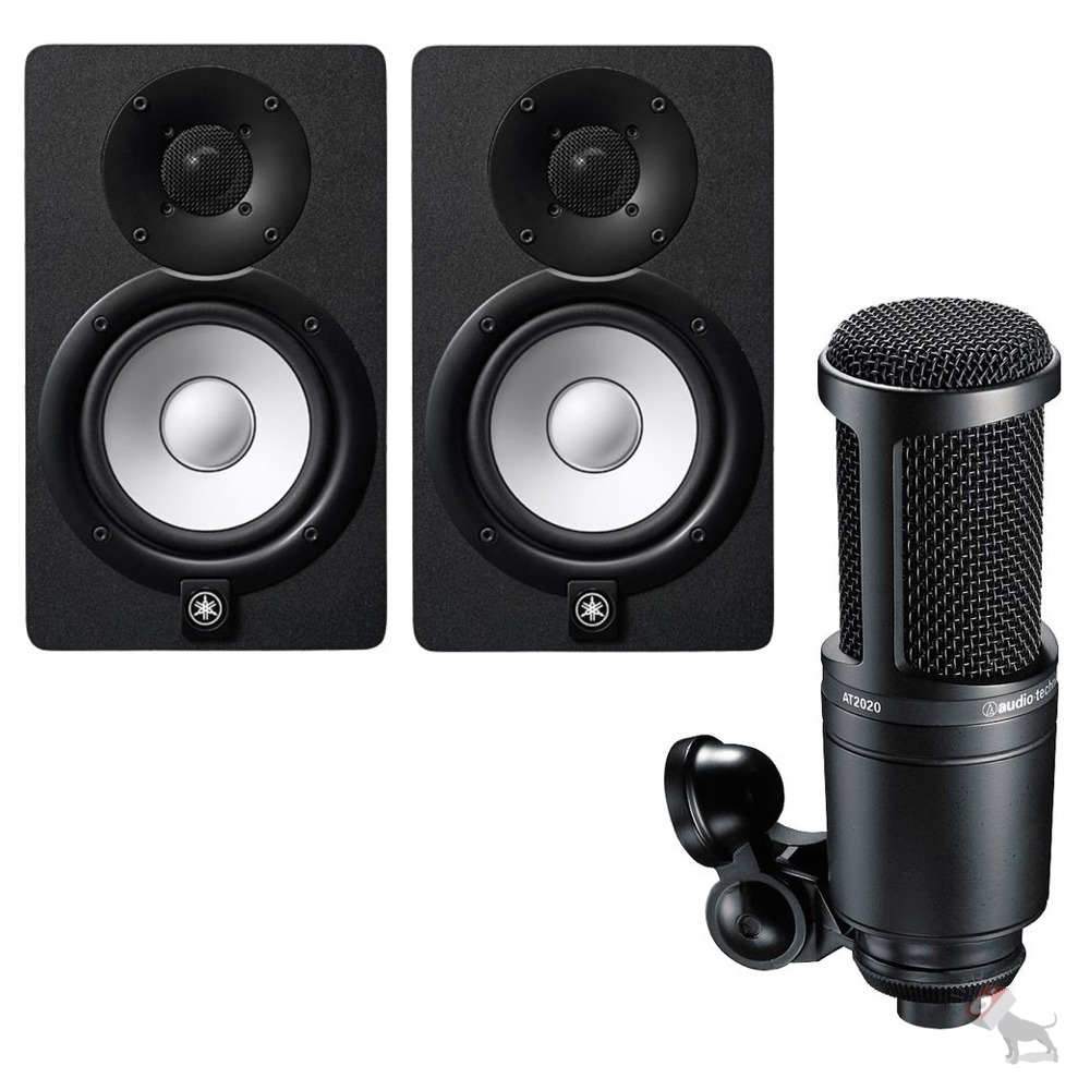 yamaha hs7 powered studio speaker monitor pair audio. Black Bedroom Furniture Sets. Home Design Ideas
