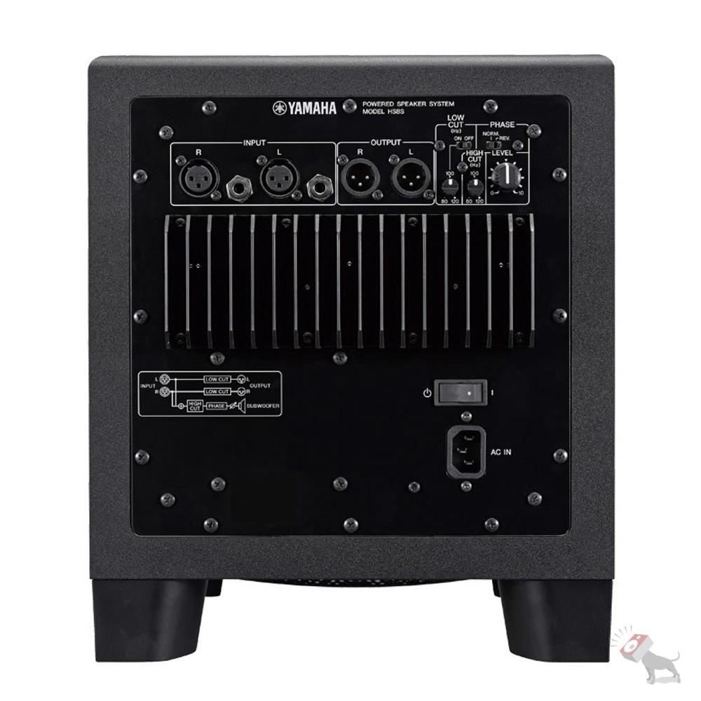 yamaha hs8 powered studio speaker monitor pair hs8s subwoofer w stands cables ebay. Black Bedroom Furniture Sets. Home Design Ideas