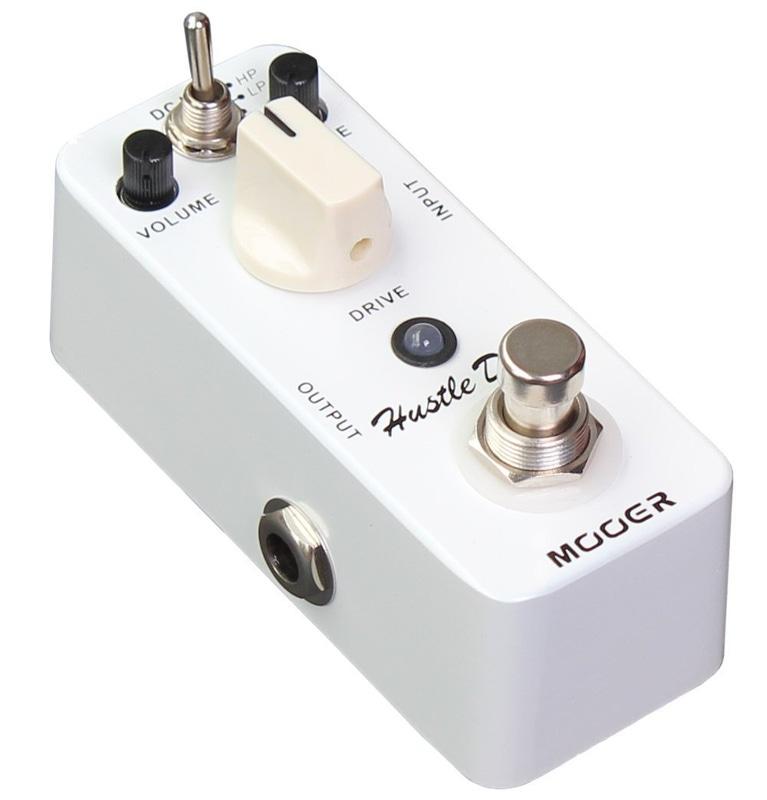 Mooer Hustle Drive Distortion true bypass overdrive effects guitar pedal