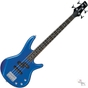 Ibanez GSRM20SLB miKro Series Short-Scale Compact Student Electric Bass Guitar Starlight Blue Finish