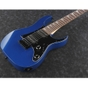 Ibanez RGM55 SLB miKro Series Short-Scale Compact Student Electric Guitar Starlight Blue Finish