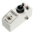 Ibanez BTMINI Compact Mini Booster Pedal w/ Bass and Treble EQ Knobs