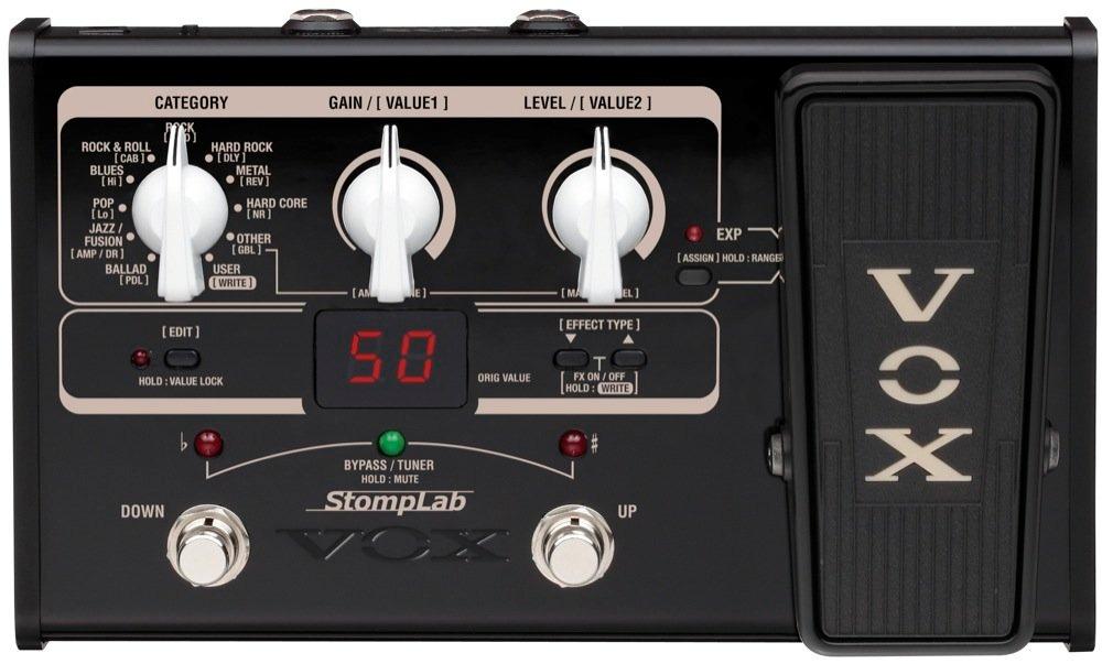 Vox Stomplab IIG Modeling Guitar Effects Processor 2G Multi-Effect Pedal (Default)