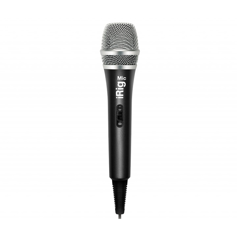 IK Multimedia iRig Mic Handheld Microphone for iPhone, iPod touch, iPad and Android