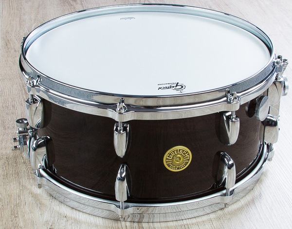 Gretsch G5-6514ERM Ebony Ribbon Mahagony Snare Drum (6.5