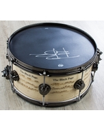 Gretsch BP-ICON-SNARE Black Page Icon, 8-Lug, BN HW