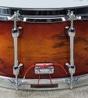 "Sakae Bubinga Snare Drum - Amber Sunburst (6.5"" x 14"")"
