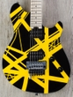 EVH Wolfgang Special Electric Guitar, Maple Fingerboard - Striped Black & Yellow