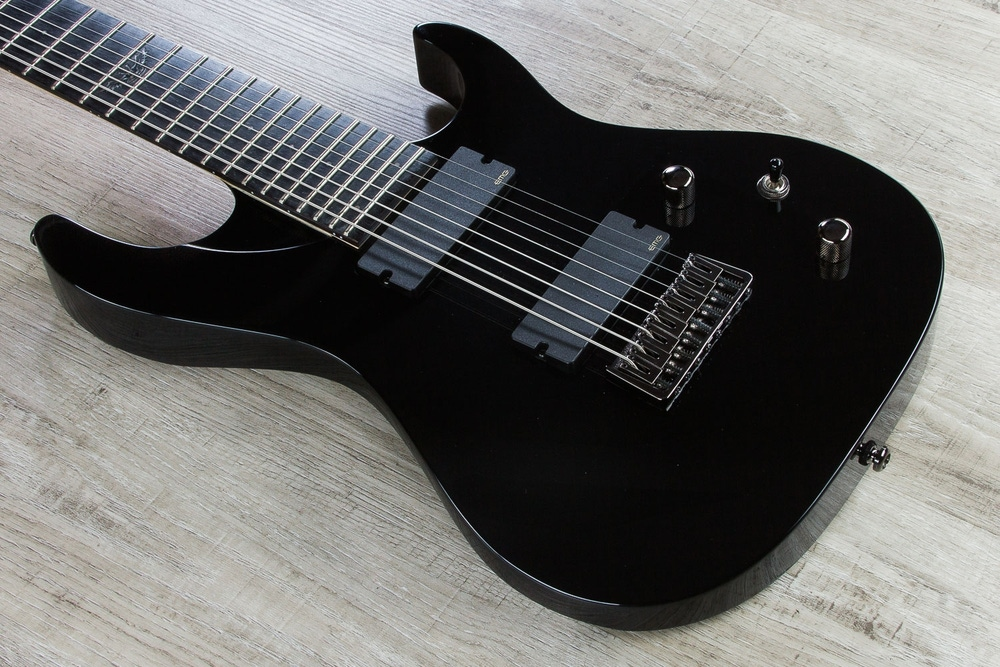 Washburn PXM18EB Parallaxe 8-String Electric Guitar - Black (B-STOCK)