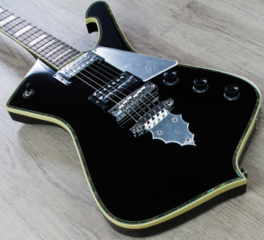 Ibanez PS10 Paul Stanley Prestige Signature Electric Guitar - Black