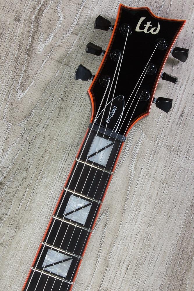 pitbull audio esp ltd gh 600nt gary holt signature electric guitar emg pickups non tremolo. Black Bedroom Furniture Sets. Home Design Ideas