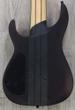 Legator Ninja 8-String Pro Fanned Fret Electric Guitar - Black Satin Burl