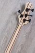 ESP LTD JC-4FM John Campbell Signature Bass, Flamed Maple Top, EMG Pickups - See Thru Black Satin / Black Satin Sides