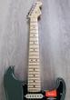 Fender American Pro Stratocaster Electric Guitar, Maple Fingerboard, Hard Case - Antique Olive