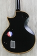 ESP E-II Eclipse DB Electric Guitar with Case - Vintage Black (B-STOCK)