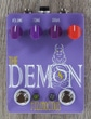Fuzzrocious Pedals The Demon Overdrive Guitar Effects Pedal with Momentary Feedback Mod - Purple