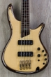 Ibanez SR1400ENT SR Premium 4-String Flame Maple Top Electric Bass in Natural