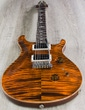 PRS Paul Reed Smith Custom 24 Electric Guitar, 10 Top, Pattern Thin, Hard Case - Orange Tiger
