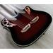 Ovation CSE225 Celebrity Double Neck Acoustic-Electric Guitar - Ruby Red Burst