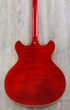 D'Angelico Excel DC Semi-Hollowbody Electric Guitar, Rosewood Fingerboard, Hard Case - Cherry