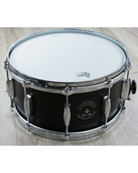 "Gretsch USA G4170D Limited Edition Black Aluminum Snare Drum with Dial Throw-off (7"" x 14"") #25/50"